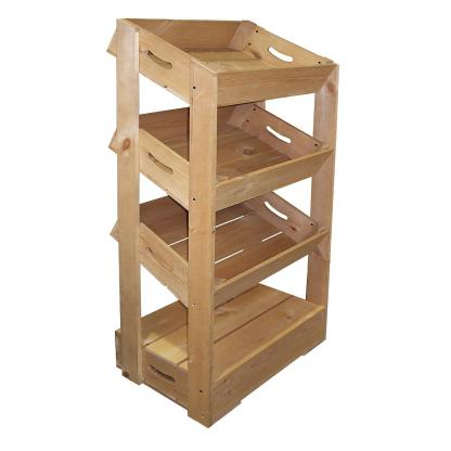 Half Crate Shelving Unit