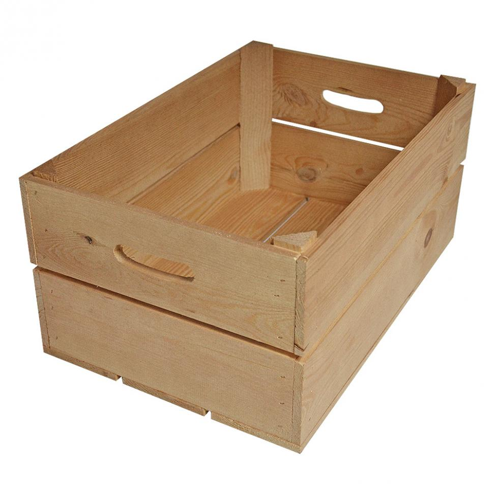Branded Wooden Crate