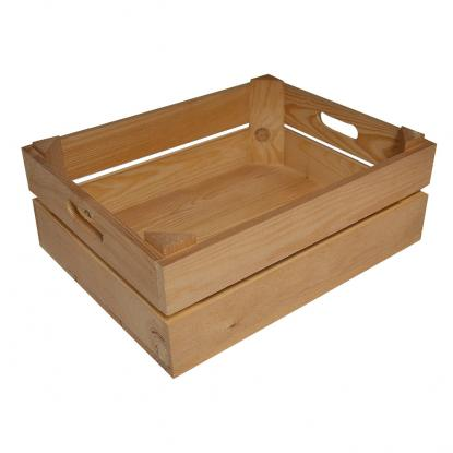 Medium Branded Wooden Crate