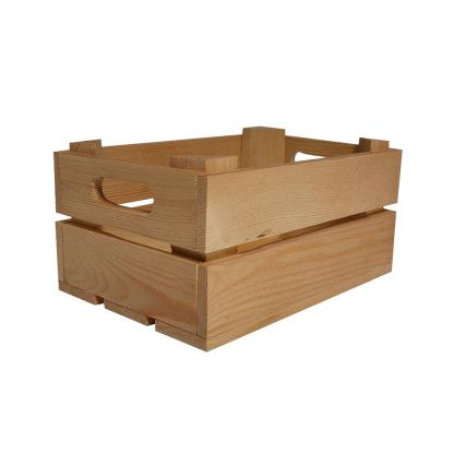 Small Branded Wooden Crate