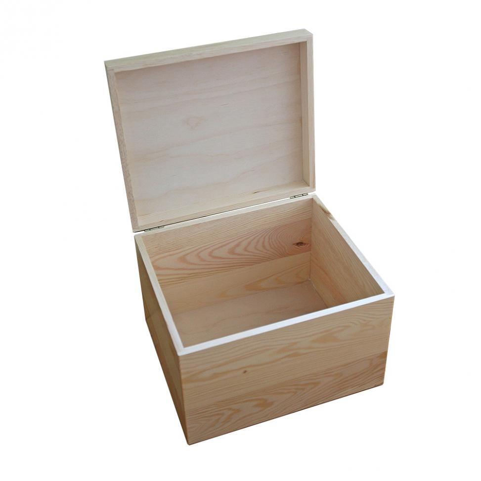Branded Wooden Storage Box