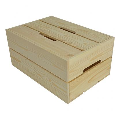 Large Wooden Contemporary Crate