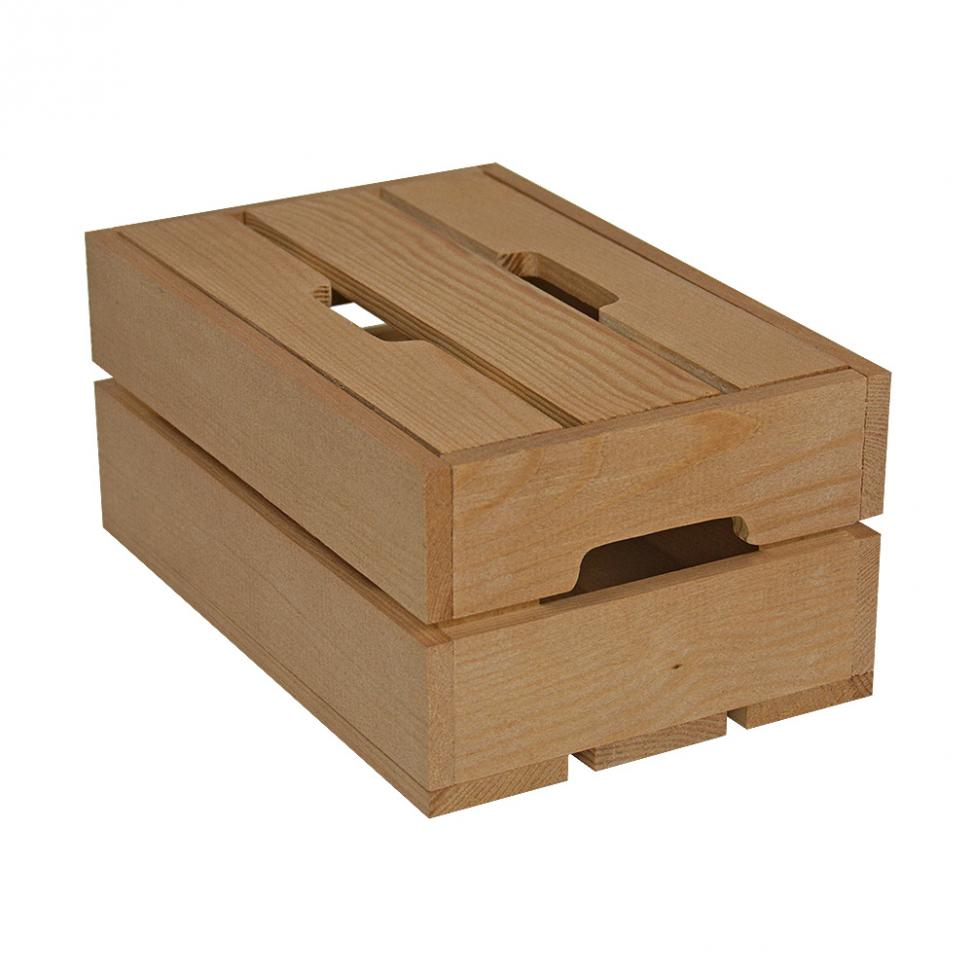 Small Contemporary Crate