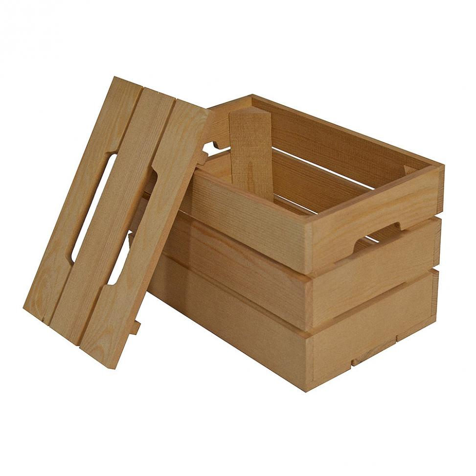 Small Tall Contemporary Crate