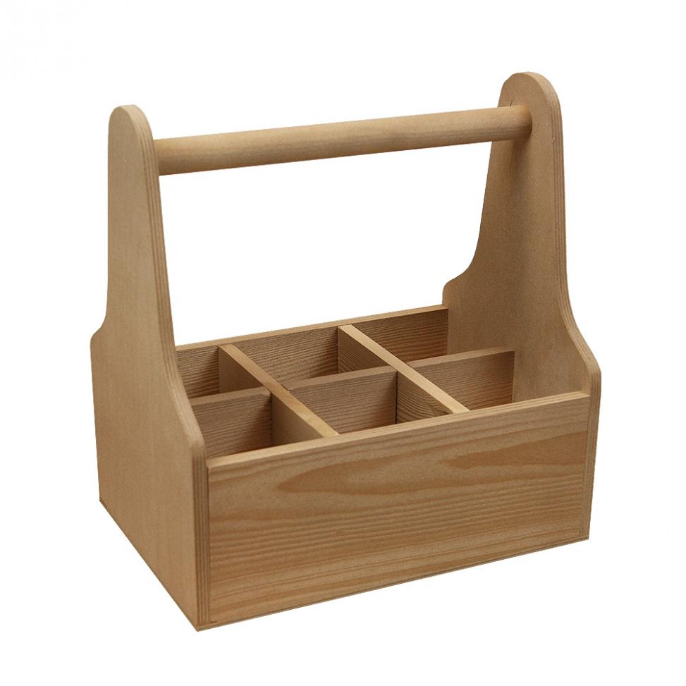 Branded Wooden Caddy
